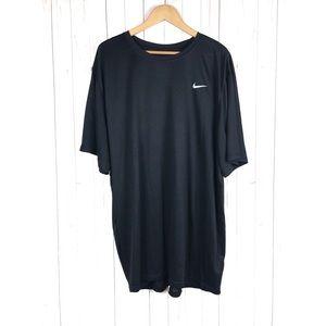 Nike Men's Dri-Fit Black T-Shirt Size 4XLT